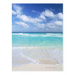 Cielo azul y mar 13 tarjetas postales