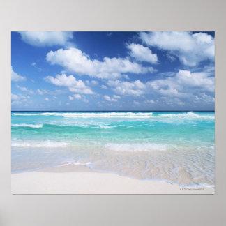 Cielo azul y mar 14 póster