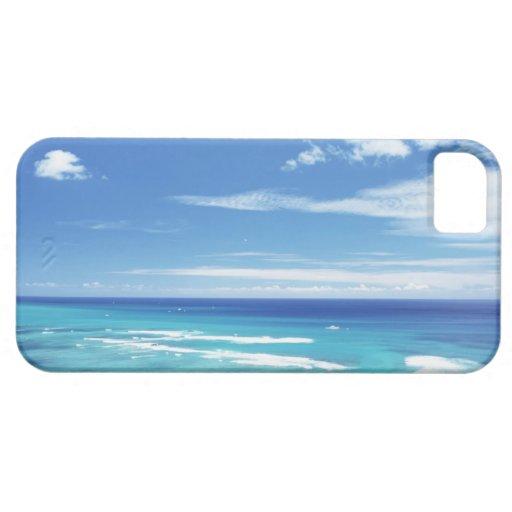 Cielo azul y mar 17 iPhone 5 coberturas