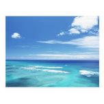 Cielo azul y mar 17 tarjetas postales