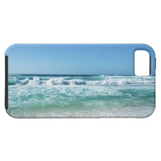 Cielo azul y mar 18 iPhone 5 Case-Mate protector