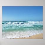 Cielo azul y mar 18 póster