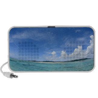 Cielo azul y mar 3 iPhone altavoz