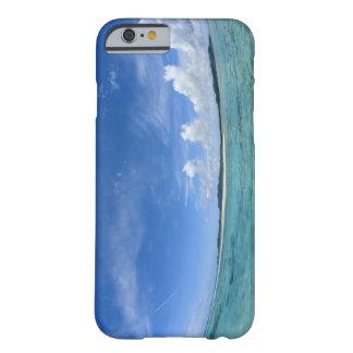 Cielo azul y mar 3 funda para iPhone 6 barely there