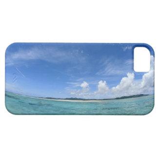 Cielo azul y mar 3 iPhone 5 funda