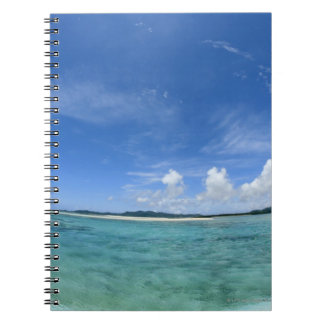 Cielo azul y mar 3 libretas