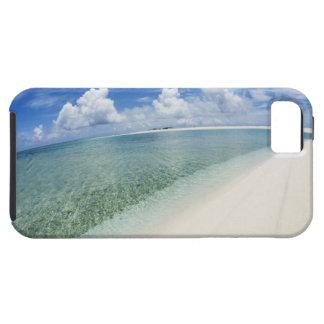 Cielo azul y mar 5 funda para iPhone 5 tough