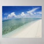 Cielo azul y mar 5 póster