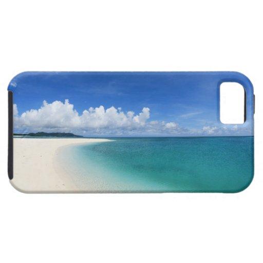 Cielo azul y mar 7 iPhone 5 funda