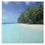 Cielo azul y mar 8 azulejos