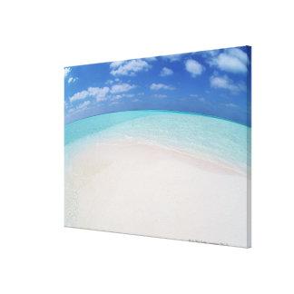 Cielo azul y mar 8 impresión en lona estirada
