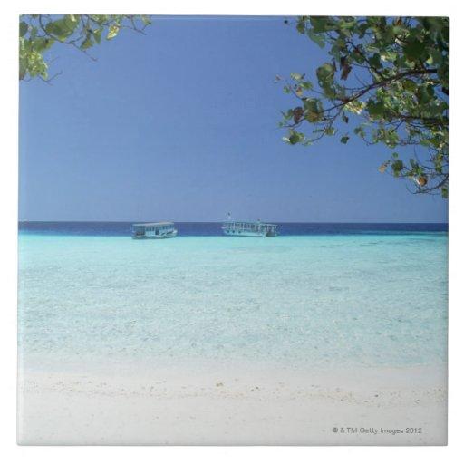 Cielo azul y mar 9 azulejo cerámica