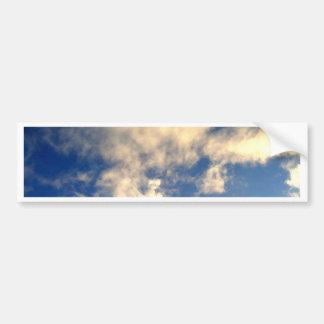 Cielo azul y nubes CricketDiane Pegatina Para Auto