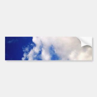 Cielo azul y nubes pegatina para auto