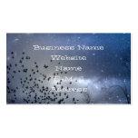 Cielo celestial tarjetas de negocios