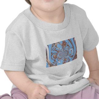 Cielo Colo de los regalos de Hakuna Matata del saf Camisetas