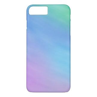 Cielo coloreado arco iris suave femenino funda iPhone 7 plus