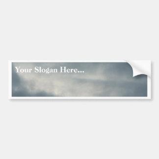 Cielo con las nubes pegatina para auto