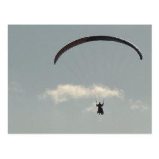 Cielo con Paraglider, libertad, parapente Tarjetas Postales