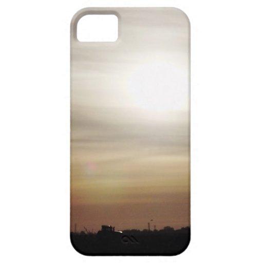 Cielo congelado funda para iPhone SE/5/5s
