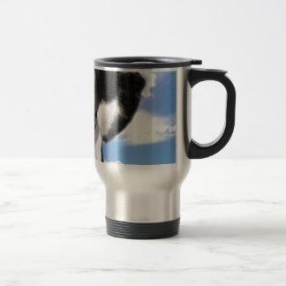 Cielo dálmata del perrito taza de café