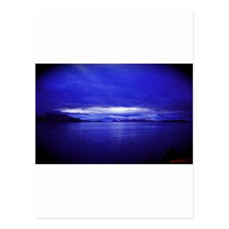 Cielo de Alaska Tarjetas Postales