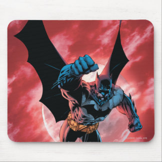 Cielo de Batman Firey Mouse Pad