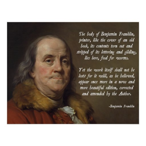 Cielo de Benjamin Franklin Impresiones