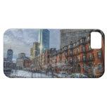 Cielo de Boston iPhone 5 Carcasas