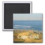 Cielo de Cape Cod Massachusetts en el imán de la t
