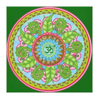 Cielo de Chakra que cura su healinglove del amor d Impresión En Lienzo Estirada