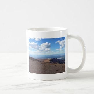 Cielo de Colorado Taza Básica Blanca