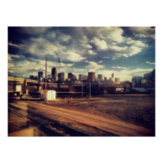 Cielo de Denver Póster