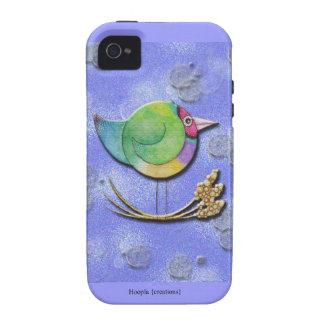 Cielo de Gouldian iPhone 4 Carcasa