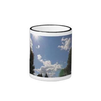 Cielo de julio Idiana, taza del campanero de 11
