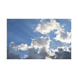 Cielo de junio impresiones de lienzo