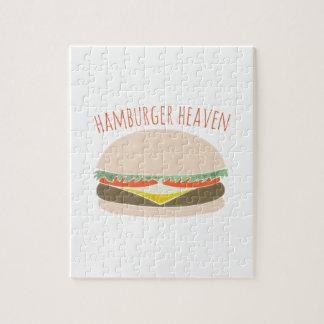 Cielo de la hamburguesa puzzles