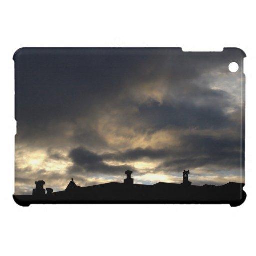 Cielo de la mañana iPad mini cárcasa