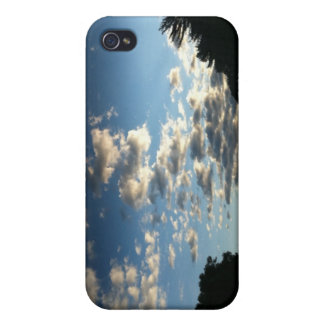 Cielo de la mañana iPhone 4/4S fundas