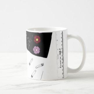 Cielo de la mercería taza de café