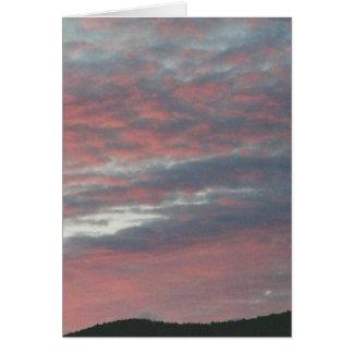 cielo de la noche tarjetas