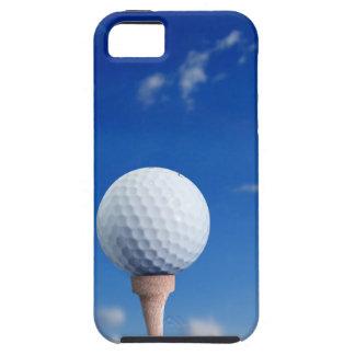 Cielo de la pelota de golf iPhone 5 carcasa