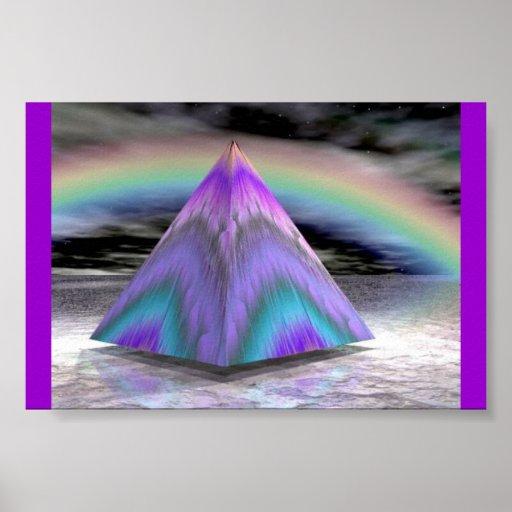Cielo de la pirámide impresiones