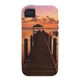 Cielo de la puesta del sol iPhone 4/4S funda