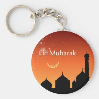 Cielo de la tarde de Eid - llavero