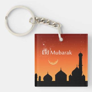 Cielo de la tarde de Eid - llavero de acrílico