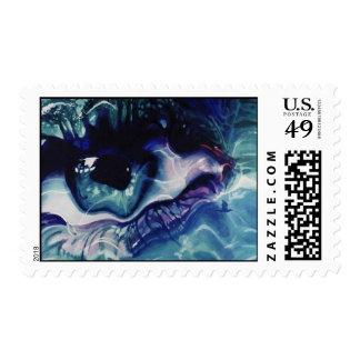 Cielo de la tierra del mar sellos postales