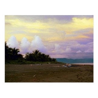 Cielo de la vainilla de Costa Rica Tarjeta Postal