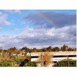 Cielo de las nubes escultura fotografica