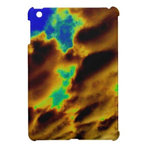 Cielo de neón iPad mini carcasa